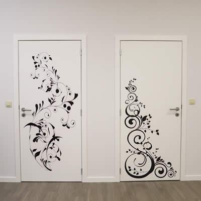 Impression Grand Format - My Colors - Floral les portes