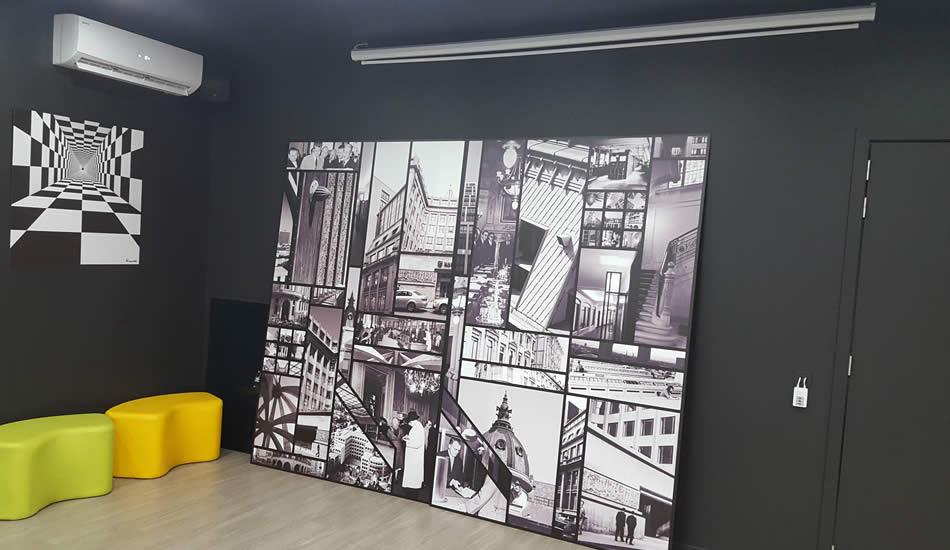 Impression sur panel - Bruxelles - My Colors