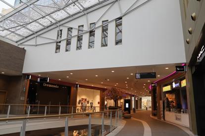 Shopping Rive Gauche - Charleroi - My Colors - Peinture - Portfolio