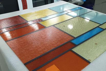 Impression sur panneau - Grand Format - My Colors - Belgique - Bruxelles - Impression Sur Verre - Vitrail